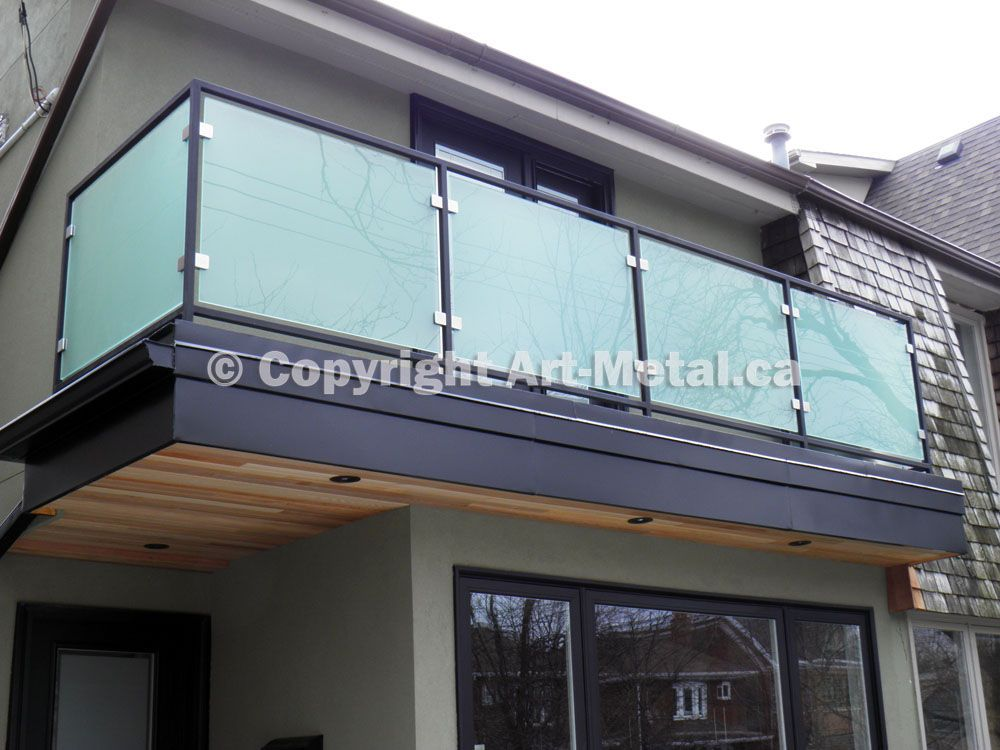 Image result for metal and glass home   Balcony railing design