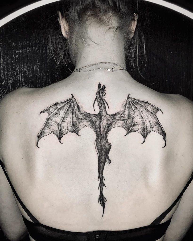 [150+] Красивые Фото Тату Драконов