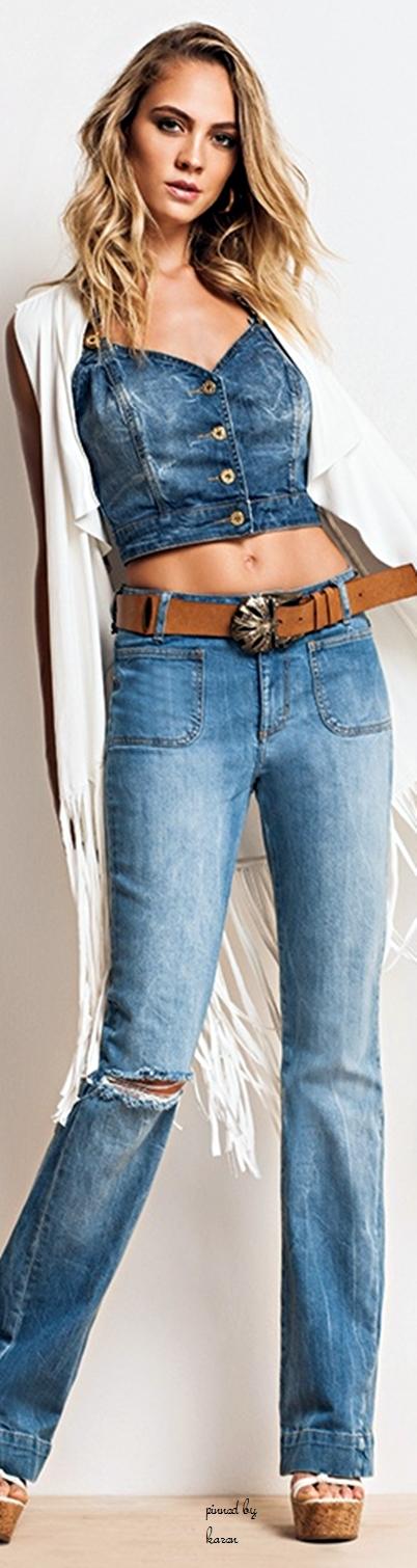 Morena Rosa #indigos #FocusonJeans® #FocusTextil