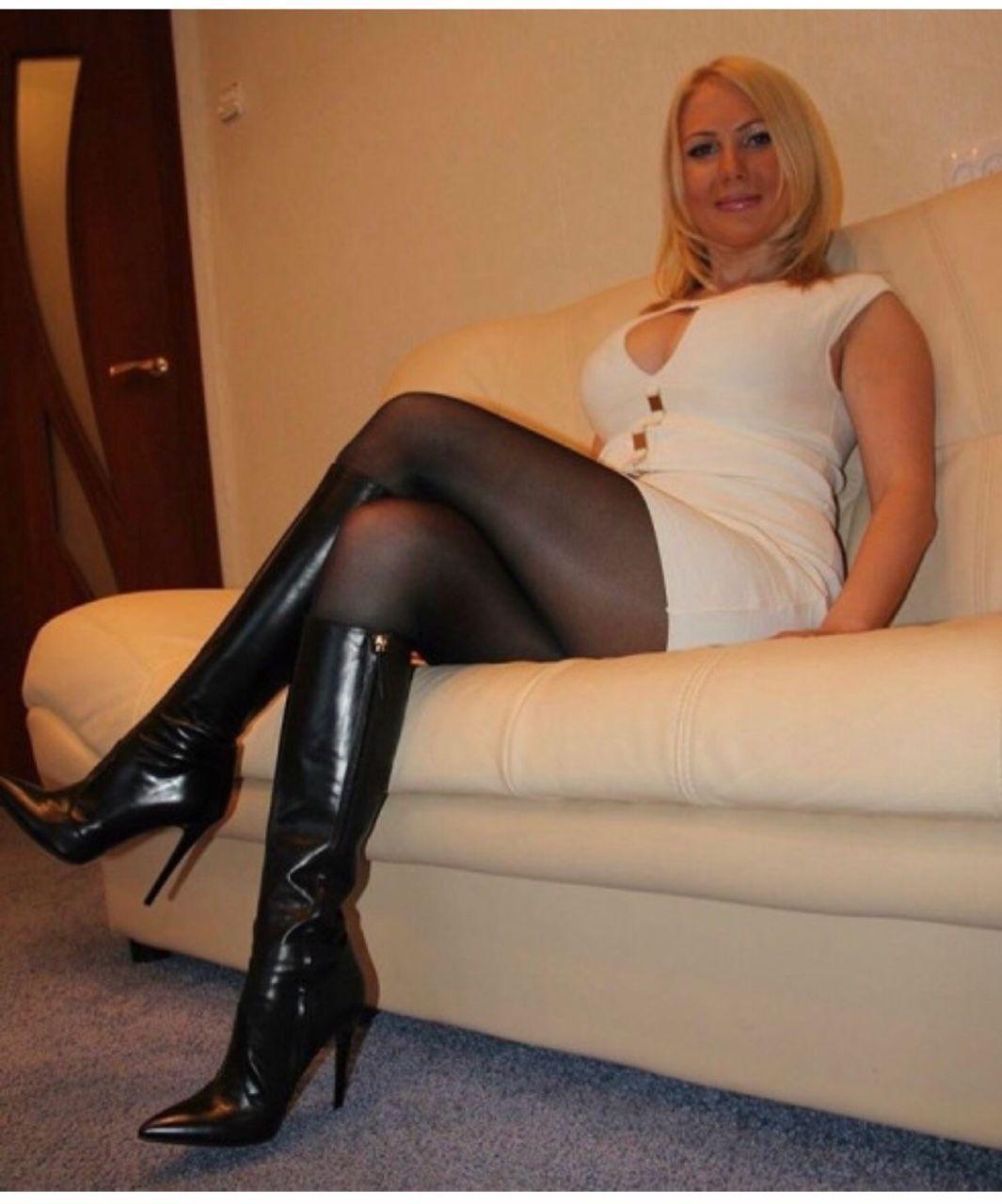 sexy Stiefel der Frauen
