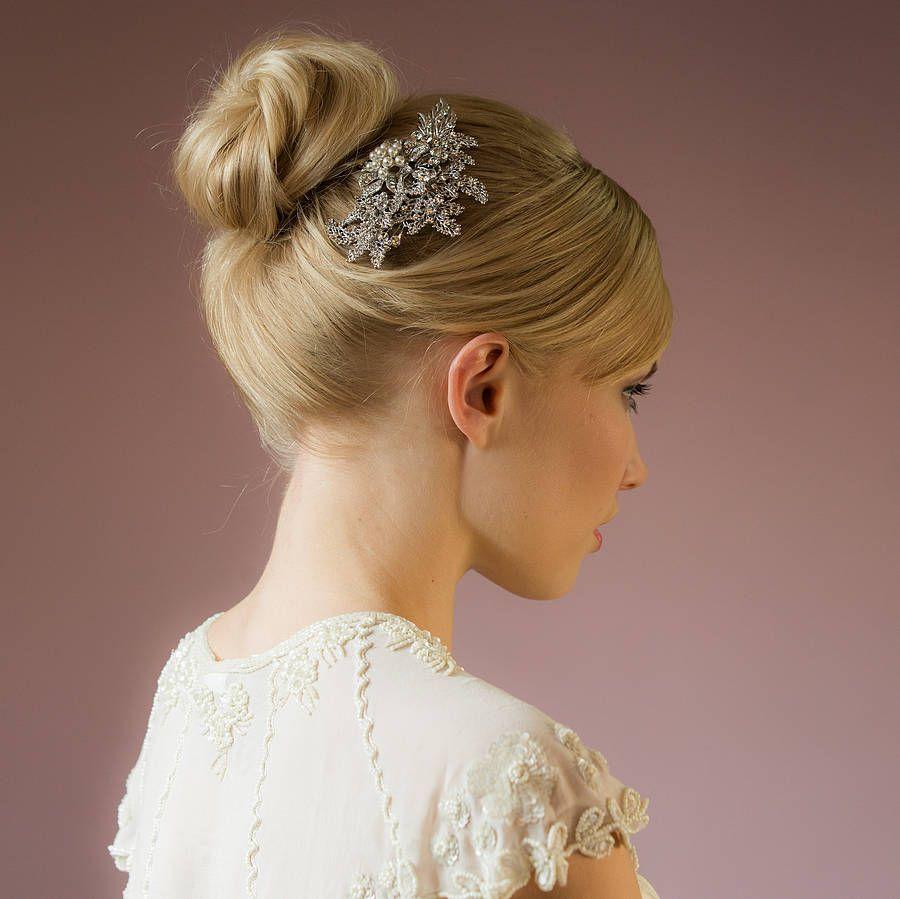akira crystal rose gold hair comb | hair combs, gold hair and