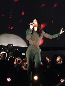 Last night I was at the #ViennaSphere for a live performance by #ConchitaWurst - definitely worth going along