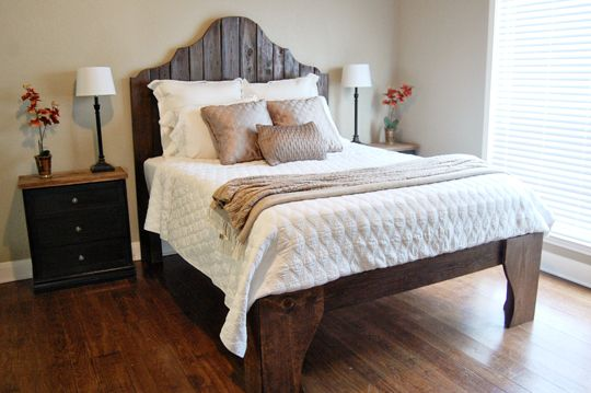 DIY Scrap Wood Bed The Accent Piece