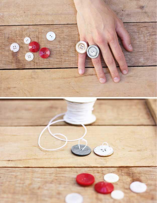 Beautiful Handmade wood rings for girls diy rare photo