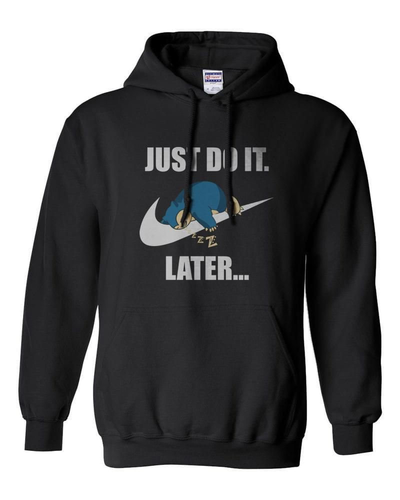 700f1c08 Just Do It Later Snorlax Unisex Pullover Hoodie Mehgeek in 2019 ...
