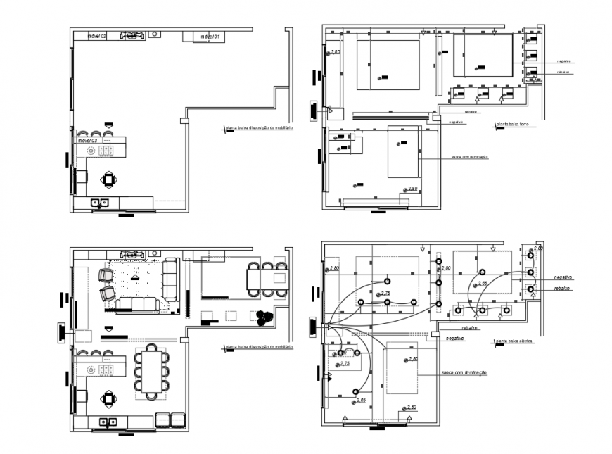 Kitchen and living room layout plan with electrical layout plan details dwg  file - Cadbull in 2020 | Electrical layout, Livingroom layout, Room layoutPinterest