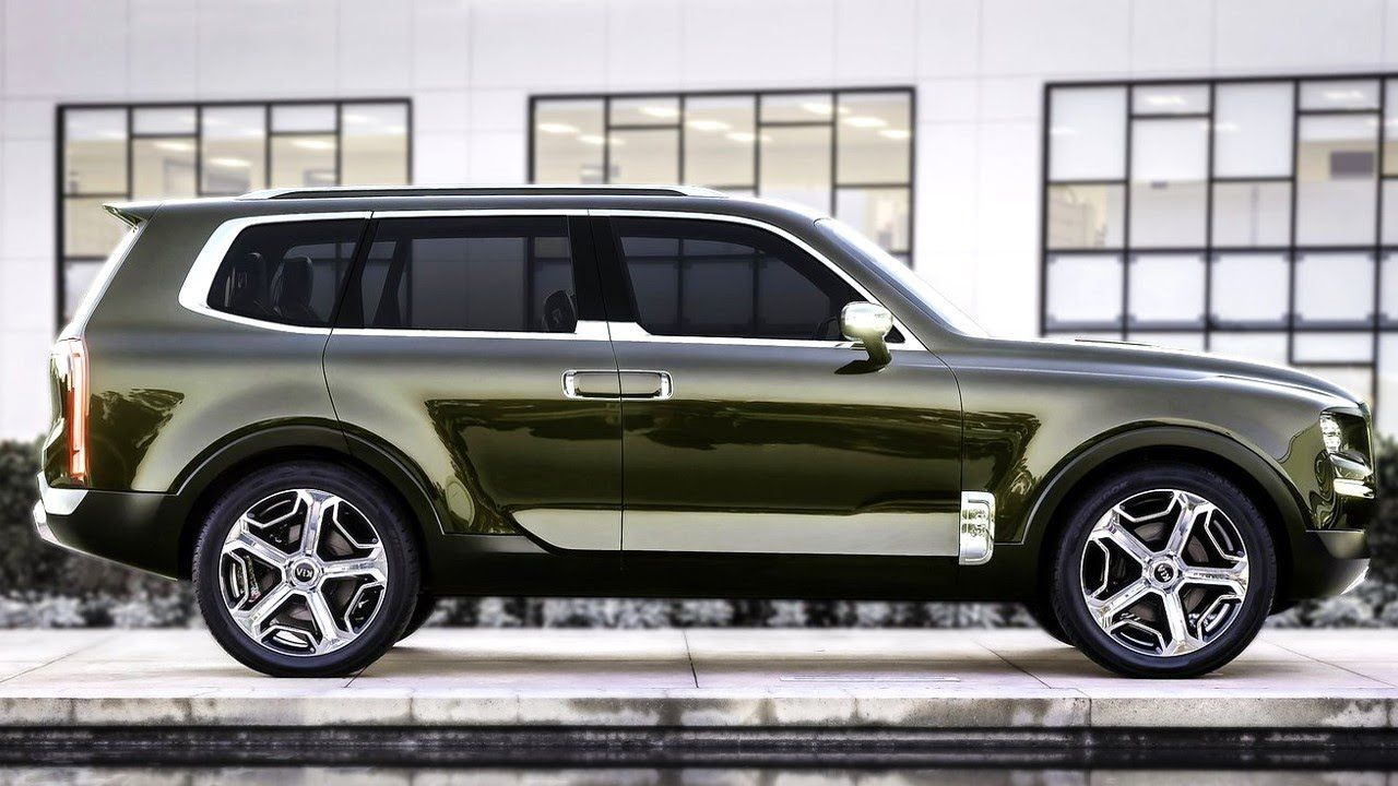 kia 2020 telluride spy shoot luxury suv suv cars suv pinterest