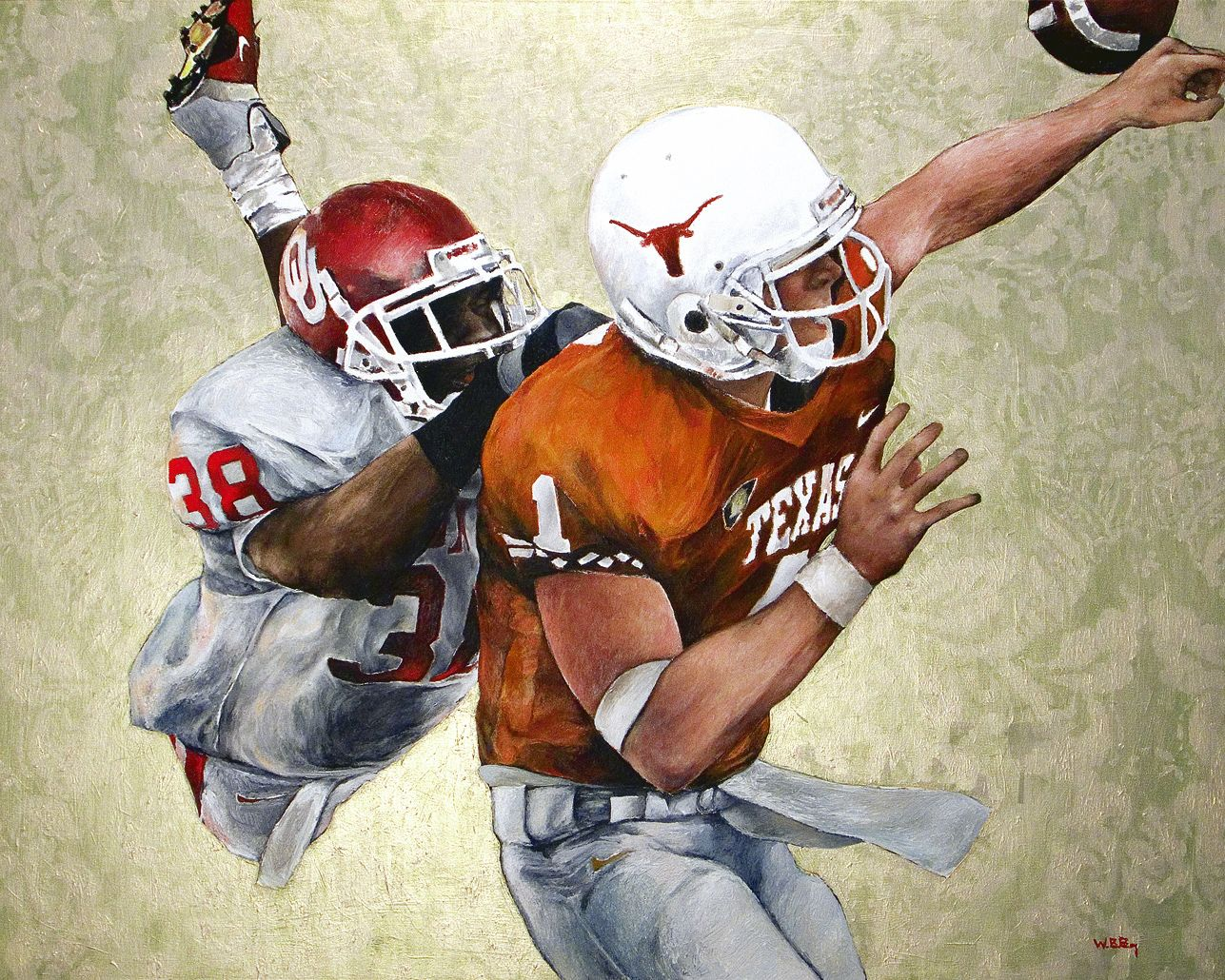 Ou Texas Oklahoma Sooners Roy Williams Superman Play Vs Texas 2001 Oklahoma Sooners Football Oklahoma Football Sooners