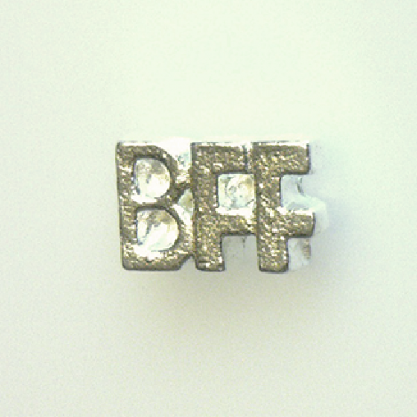 BFF Floating Locket Charm at www.showyourcharm.com Let them know who they are! Gift this locket charm and create a memory. Add more charms from our full line of collectable jewelry charms.