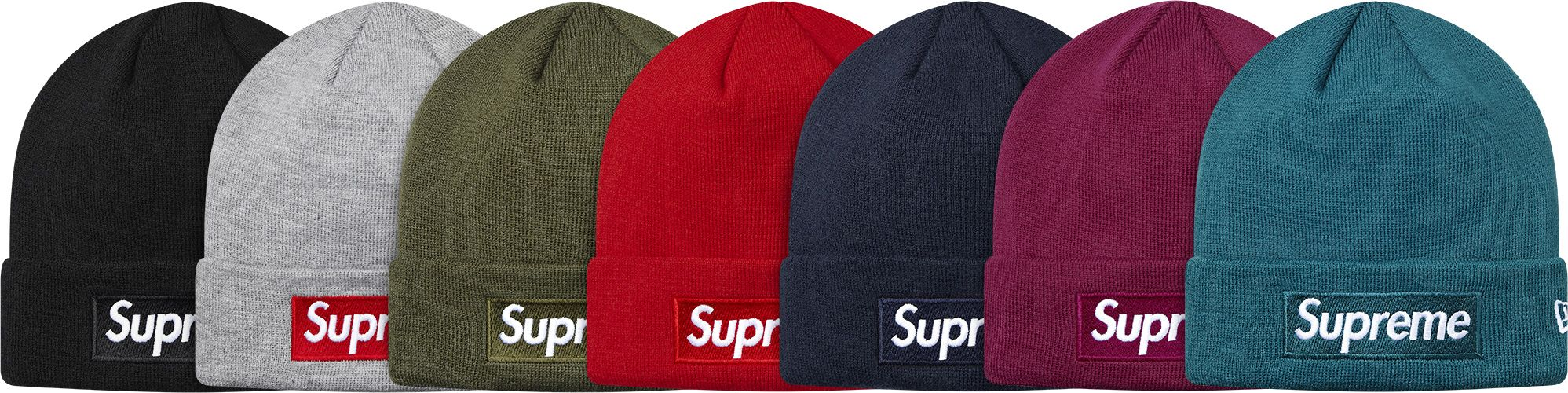 Supreme New Era Box Logo Beanie  8f11fe35f7a