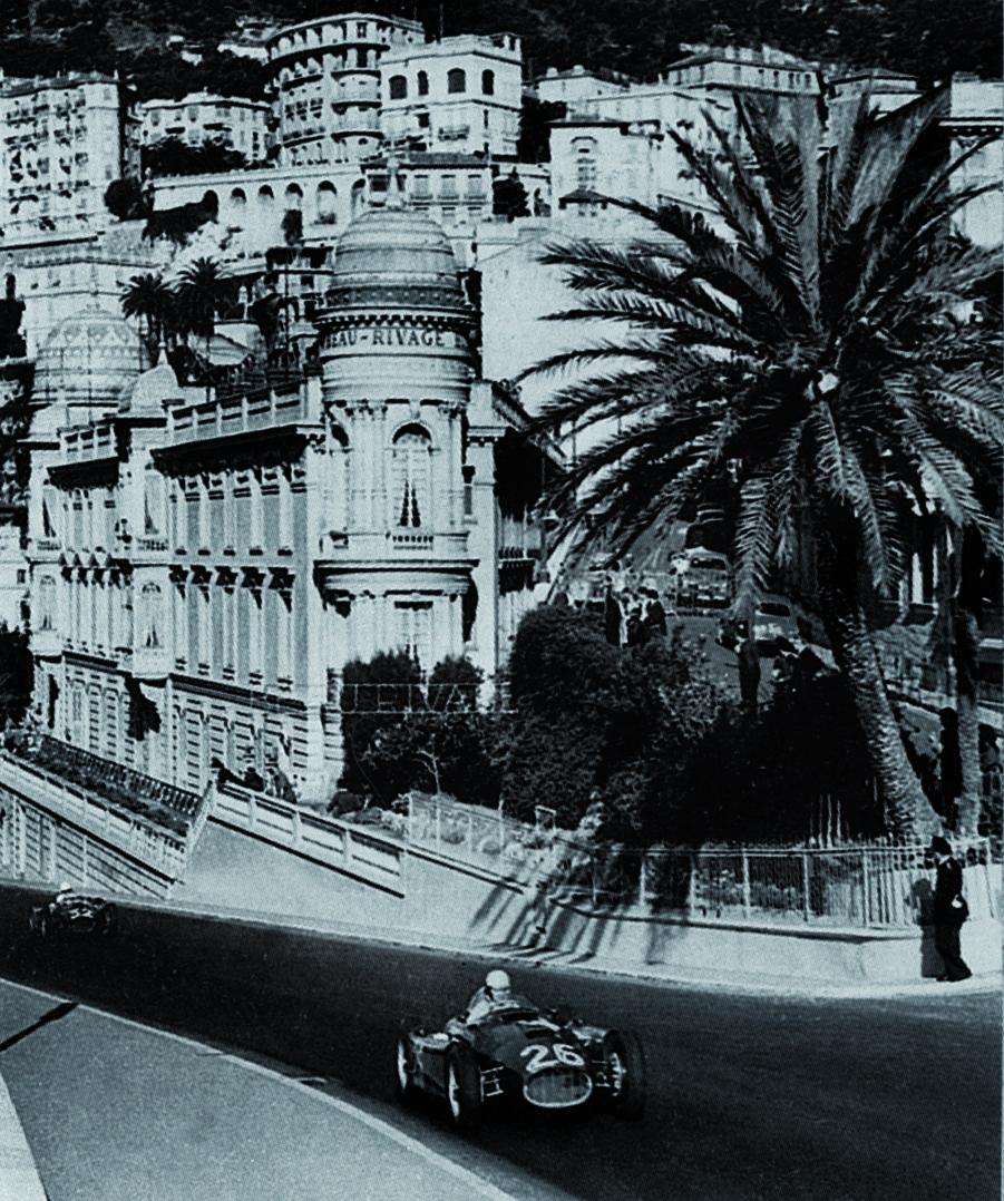 Alberto Ascari/Lancia-Ferrari D50/Monaco/1955
