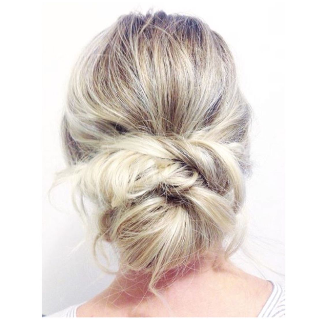 Voluminous loose low bun | Hair | Pinterest | Low buns, Wedding hair ...