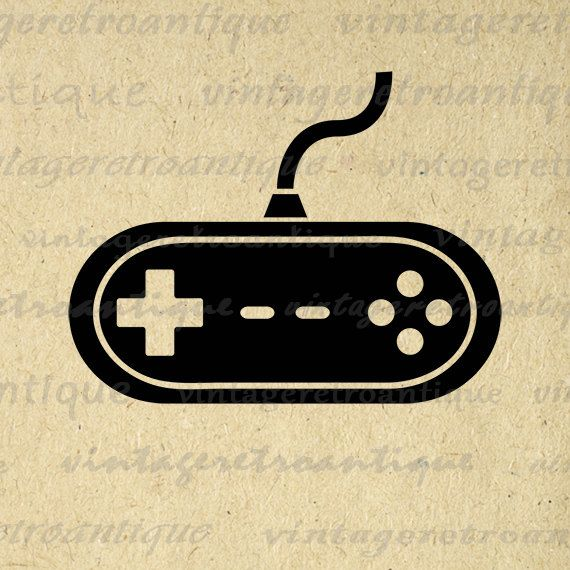 Video Game Graphic Printable Image Video Game Controller Download ...