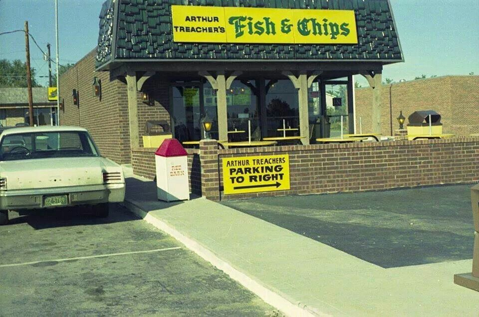 Arthur treachers fish and chips back when in kck for Arthur treachers fish and chips