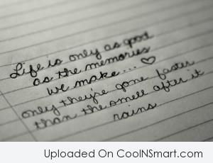 Quotes And Sayings About Family Memories