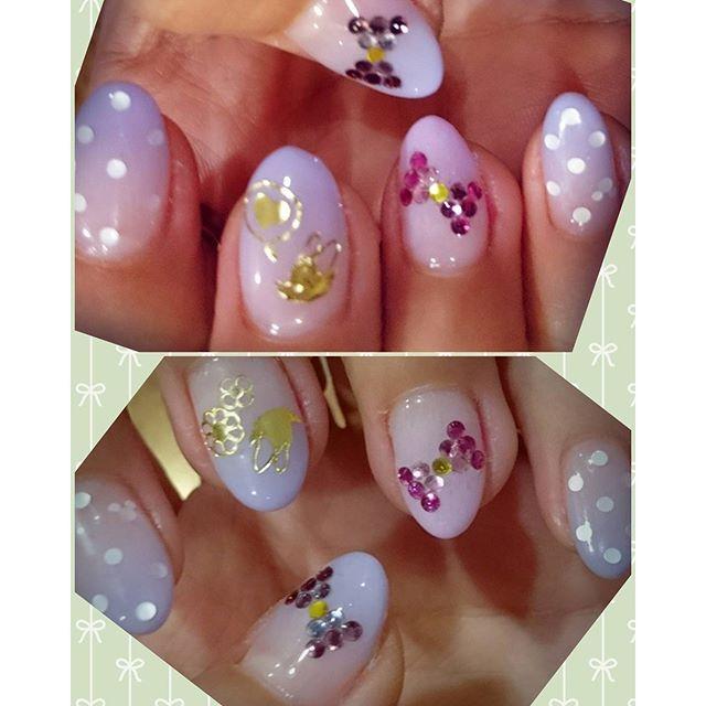 lily_bambi#disney #disneynails #daisy #daisyduck #nail #batiknail #山口さん #thx #アリガトウ #ディズニー #ネイル #横浜 #yokohama #followme #follow4like #followforfollow #followforlike