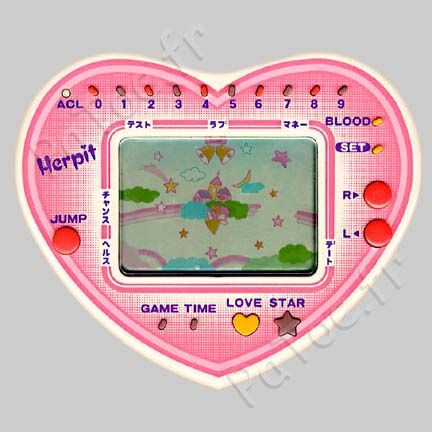 Herpit: Cupid Love Star LCD Handheld Game Bandai