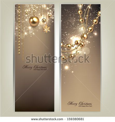 Classy Christmas Banners Leaderboard Banners