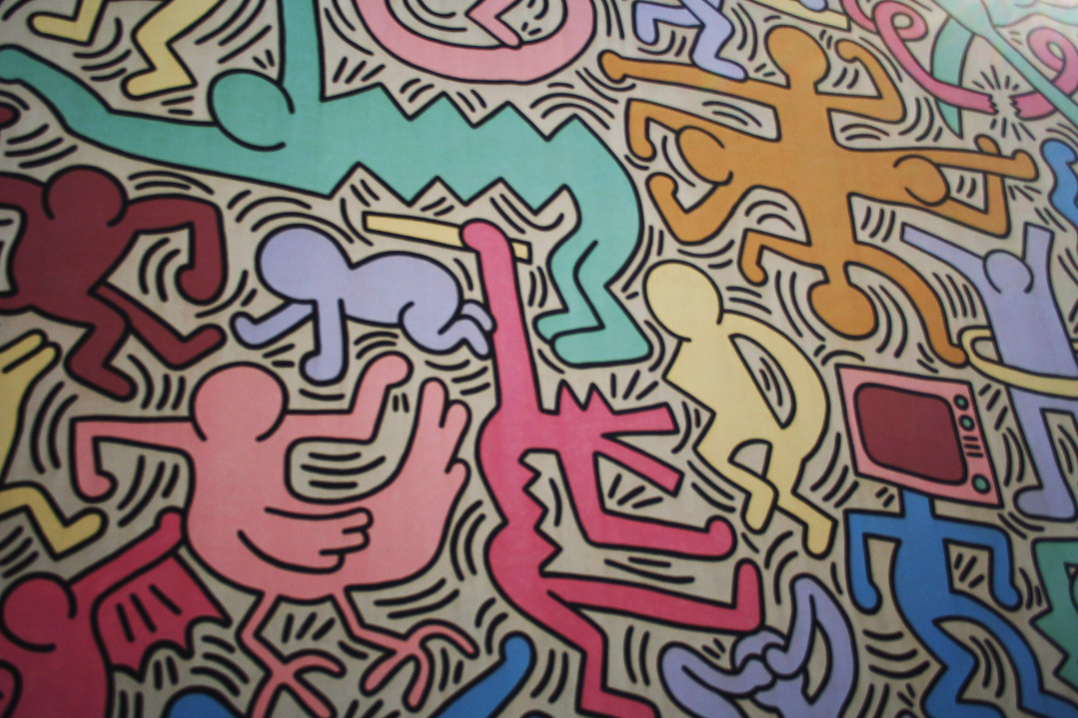Keith Haring  Google Search Top Secret Mood Board Pinterest