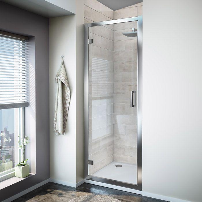 Turin Hinged 8mm Shower Door From Victorian Plumbing Co Uk Shower Doors Door Stripping Modern Shower