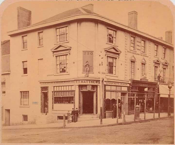 Image result for frank senior chemist 252 george street sydney history