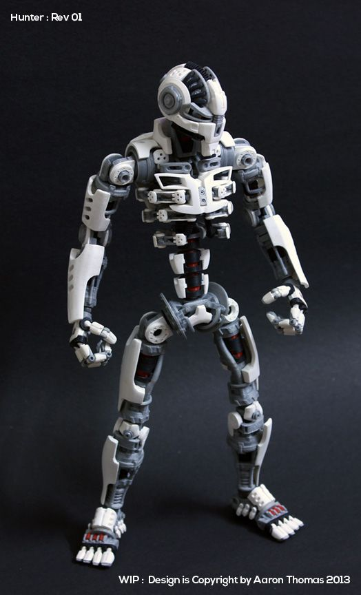 Amazing 3D Printed Action Figure