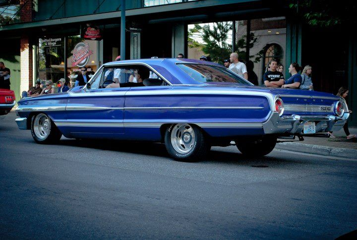 Digging The Paintjob On This 63 Ford Galaxy