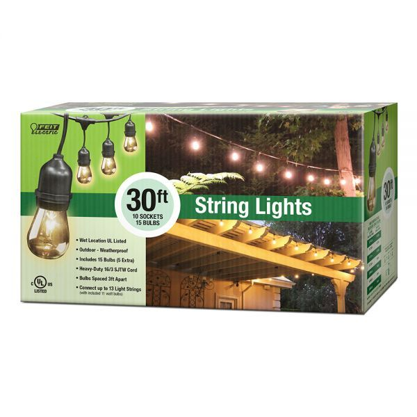 Feit Led String Lights Glamorous String Lights  Outback  Pinterest  Lights Outdoor Areas And Bulbs Design Inspiration
