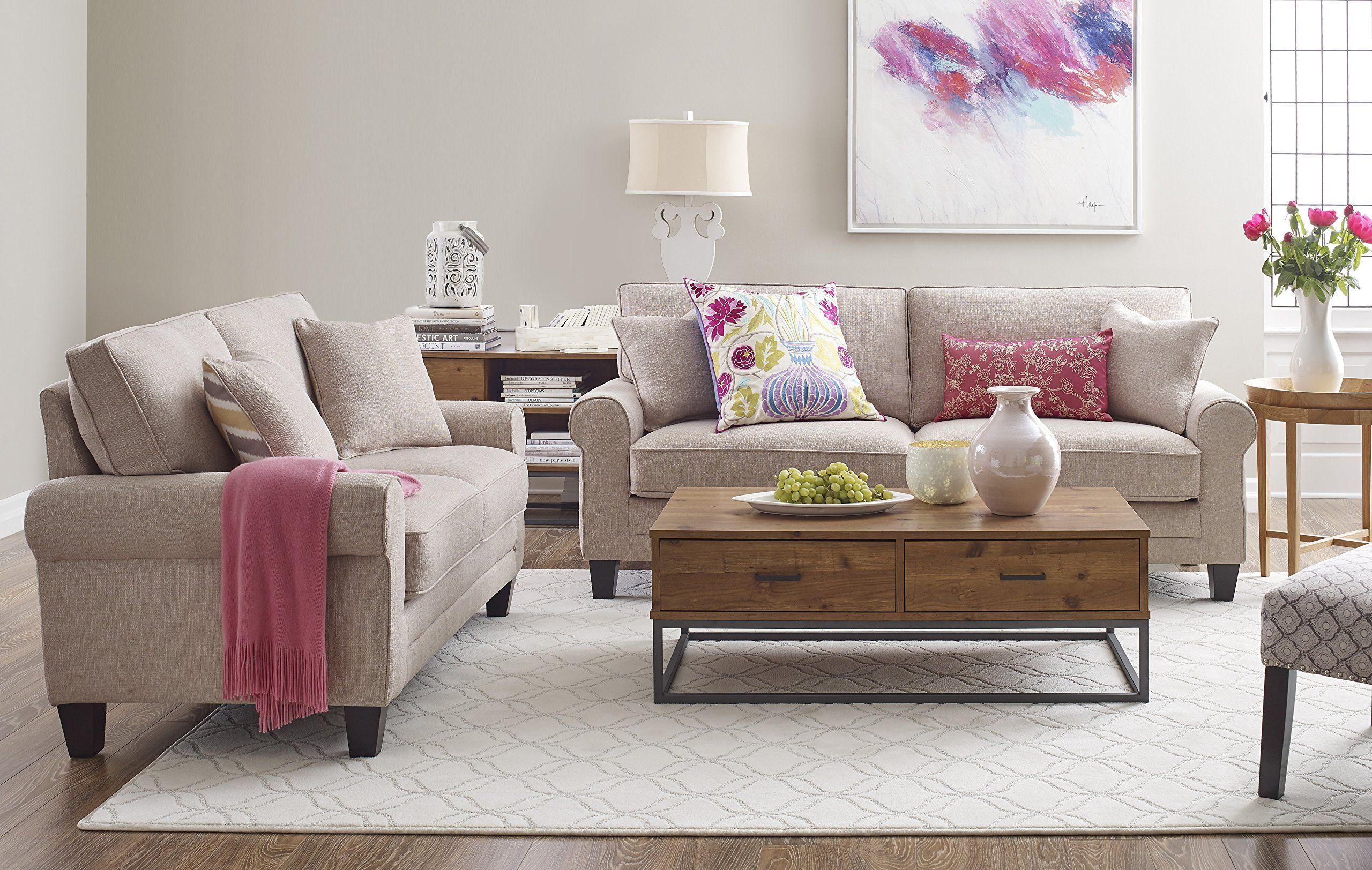 Pin On Loveseats #serta #living #room #set