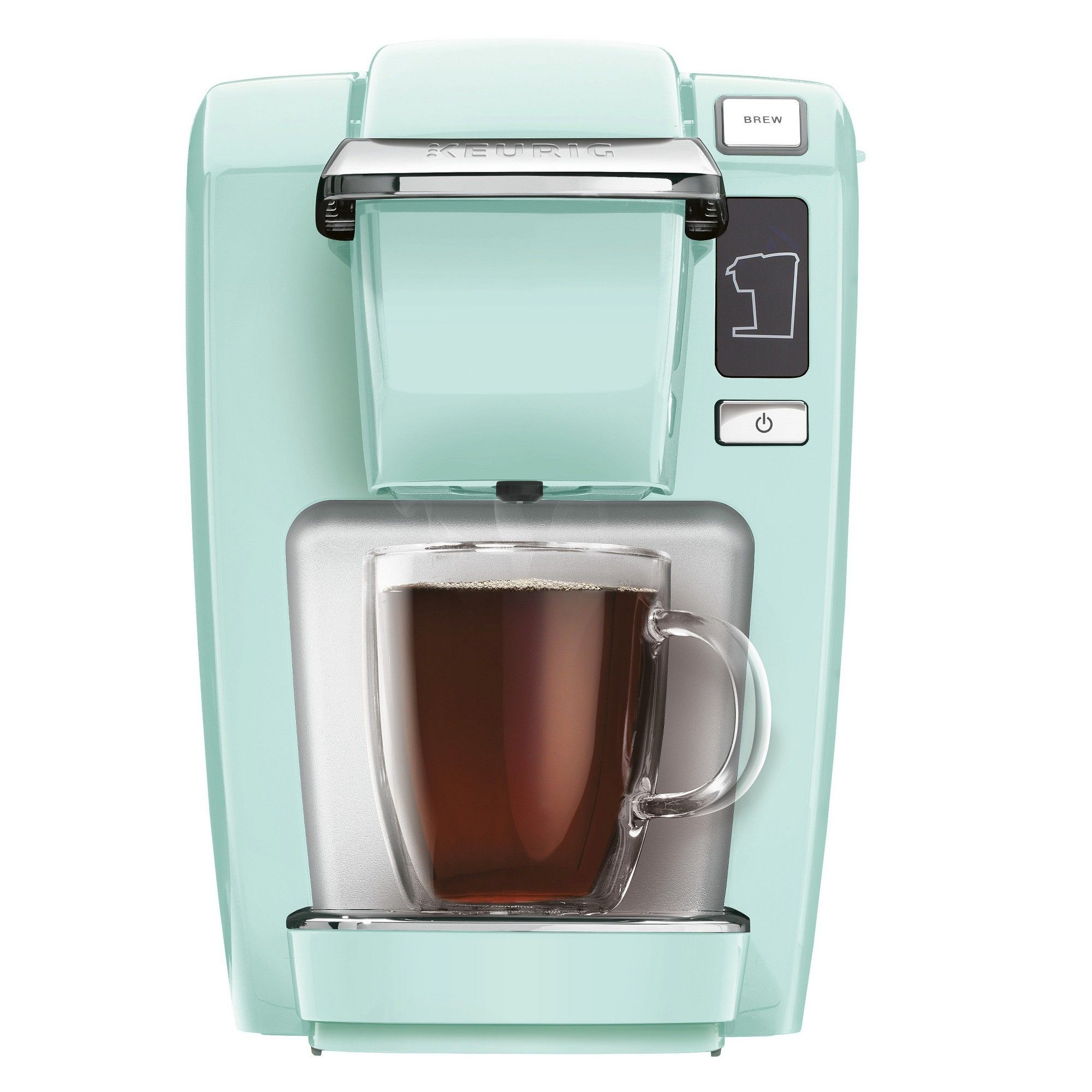 Keurig Plus Brewing System Oasis Green (K15) Pod coffee