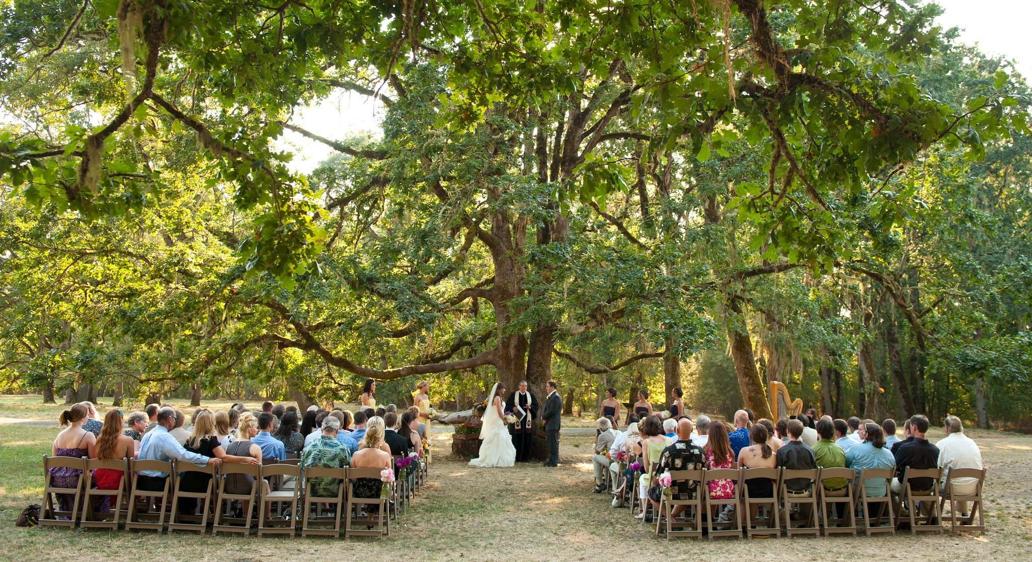outdoor wedding venues eugene oregon