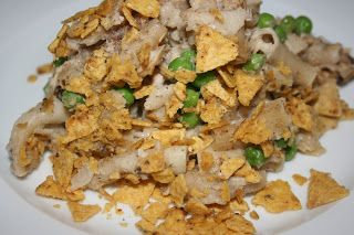 A Year of Slow Cooking: Tuna and Noodle Casserole in the CrockPot