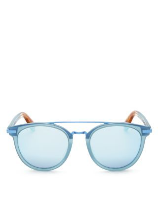 TOMS Harlan Mirrored Wayfarer Sunglasses, 50mm. #toms #50mm