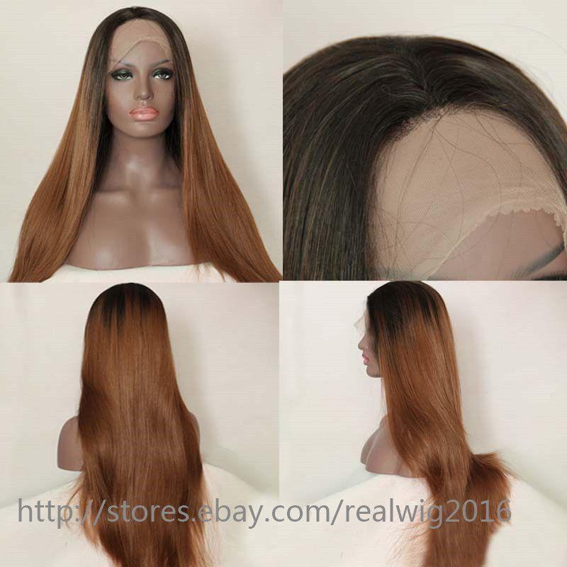 8 24 1bt30 Ombre Hair Color 100 Virgin Human Hair Full Lace