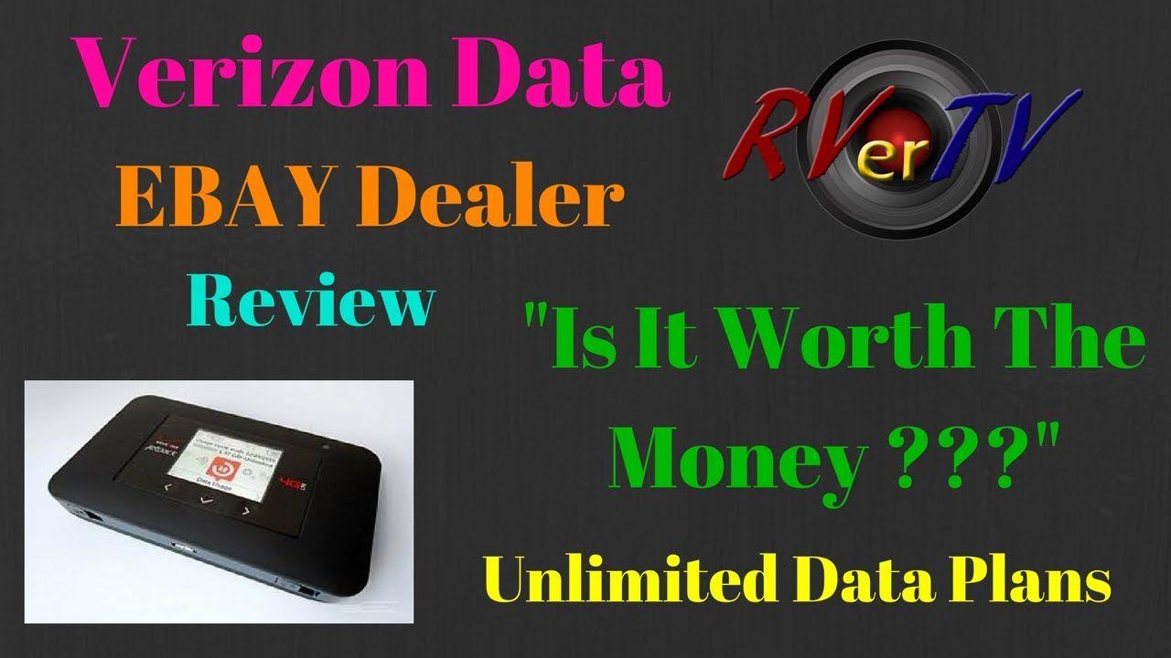 Unlimited Verizon Data Plan From Ebay...Is It Worth The Money ? Plus Rad...