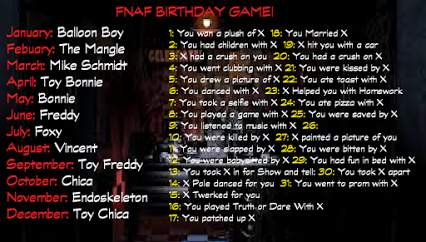 My bro would be saved by Foxy! And Balloon Boy would run me over with a car. -_-
