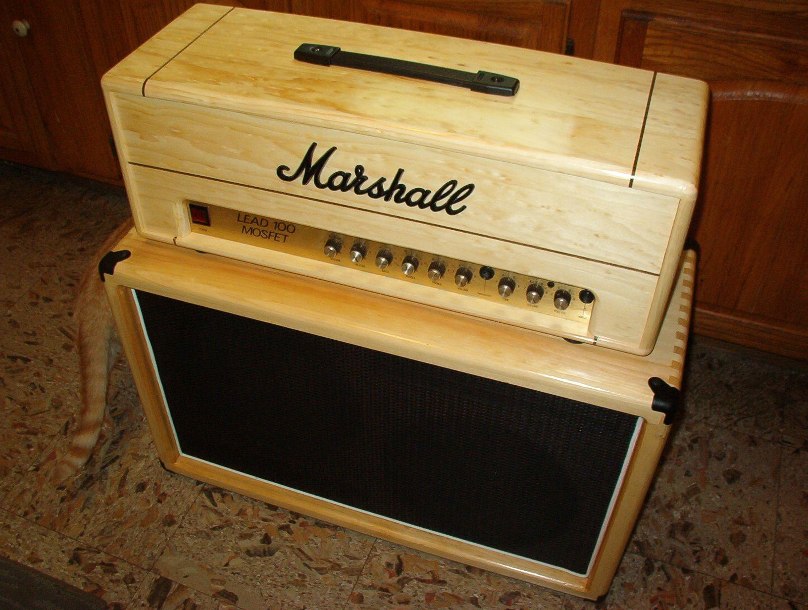 Vintage Half Fenders : Marshall wood half stack recherche google °guitar