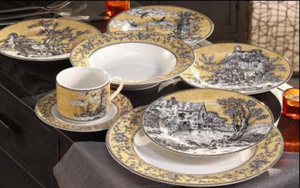 Captivating Toile Dinnerware Sets Pictures - Best Image Engine . & Captivating Toile Dishes Sets Photos - Best Image Engine - tagranks.com