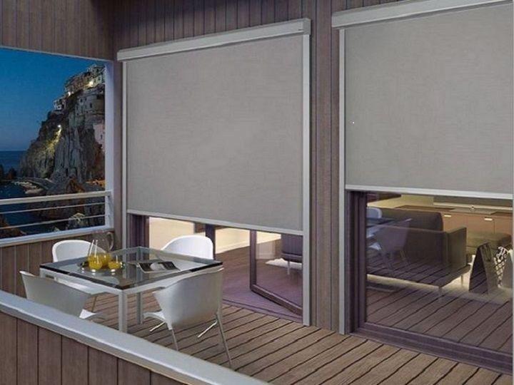 Tende Per Finestra Balcone : Tende invernali per balconi e finestre verticleblindshouse