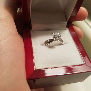 Under Usd100 1 Ct Twisted Infinity Promise Ring Engagement Ring Man Made Diamond 925 Sterling Silve Man Made Diamonds Infinity Ring Promise Etsy Wedding