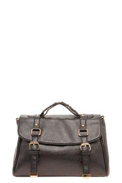 Tami Buckle Detail Bag at boohoo.com
