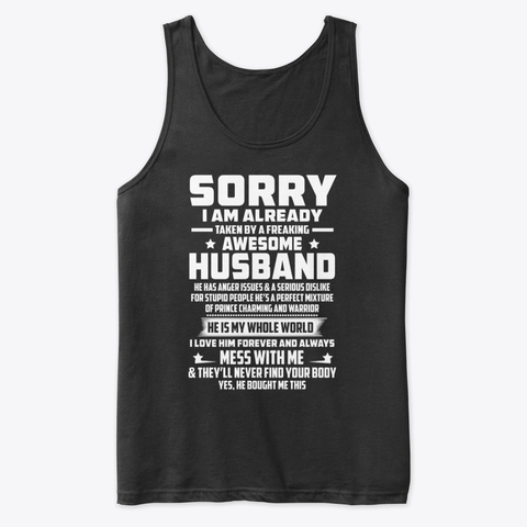 Sorry I Am Already Taken By A Freaking Products from Housband and wife | Teespring #husbandandwife #love #husband #couplegoals #marriage #wife #wedding #family #couple #marriedlife #relationshipgoals #instagood #weddingday #bride #happy #married #husbandandwifeteam #masalahperiod #marriagegoals #quinnv #tipssihat #produkviral #tipscantik #weddingphotography #couples #photography #dropshipwanted #quinnclean #happiness #bhfyp