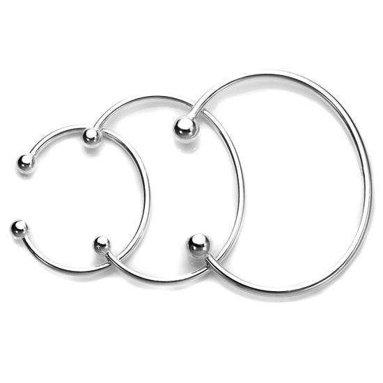 Solid Sterling Silver Torque Bangle Baby Maiden Amp Adult In 2019 Silver Bangles Sterling Silver