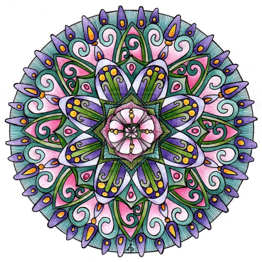 13th January Mandala by Artwyrd.deviantart.com on @deviantART