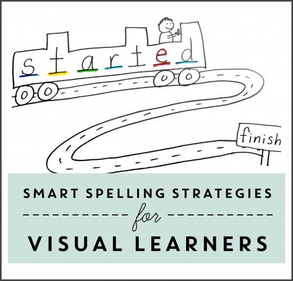 Smart Spelling Practice for Visual Learners Pinterest Literacy