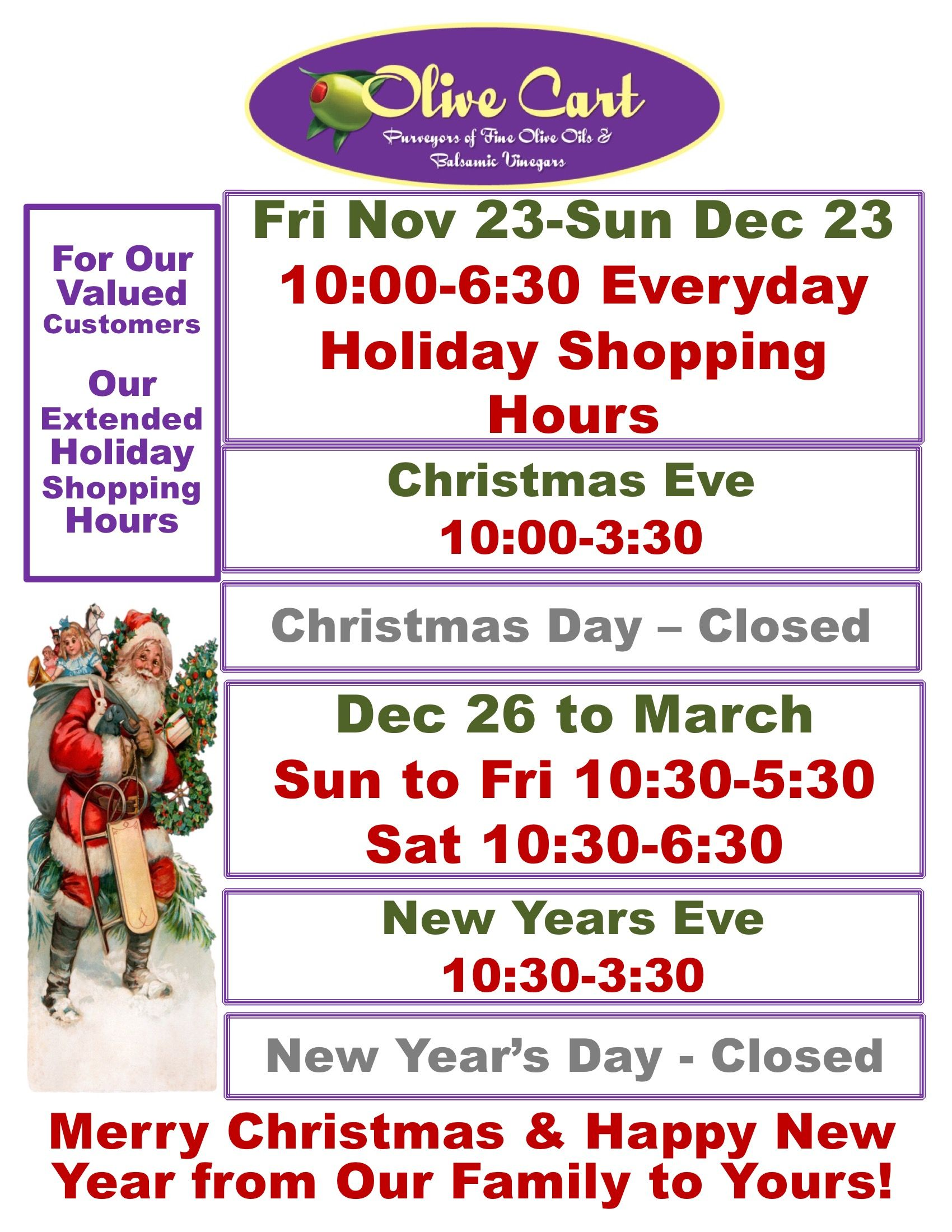Only 25 shopping days till Christmas! We have the items
