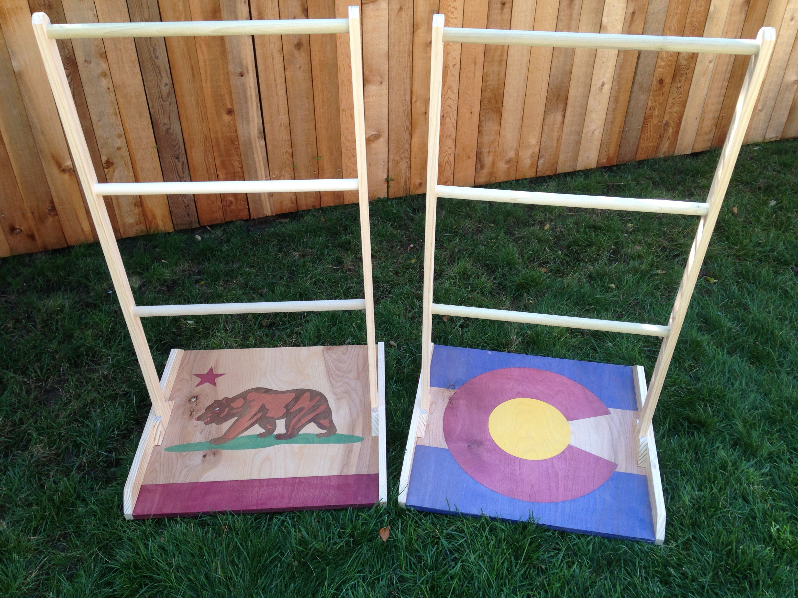 Custom ladder golf available at