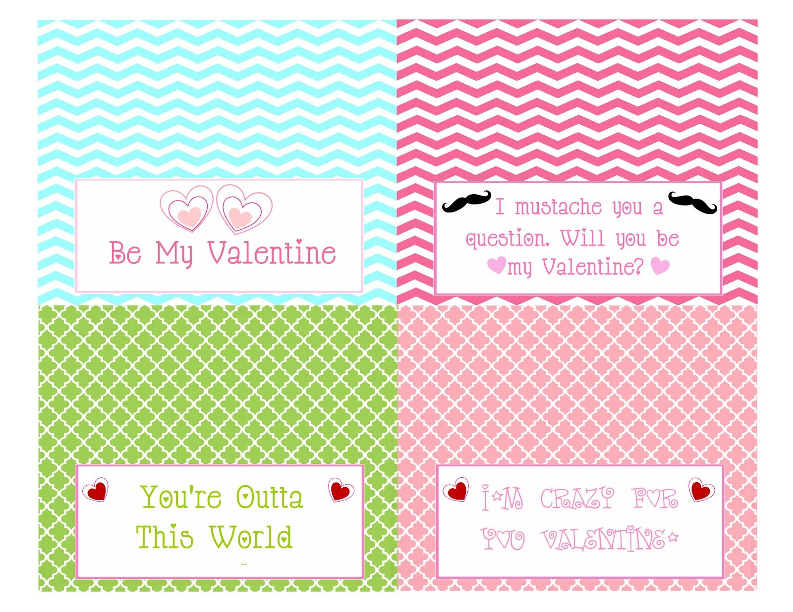 photograph about Free Printable Treat Bag Toppers titled S N Prepare: Valentines Deal with bag topper (Absolutely free printables