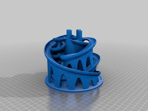 Il marmo Macchina 3D Stampato # 3 da Tulio - Thingiverse