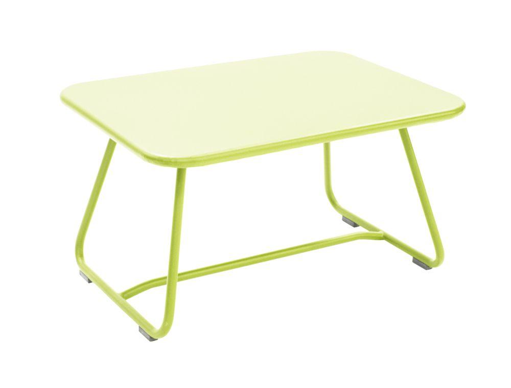 Table Sixties, table basse pour salon de jardin | PROJET ...